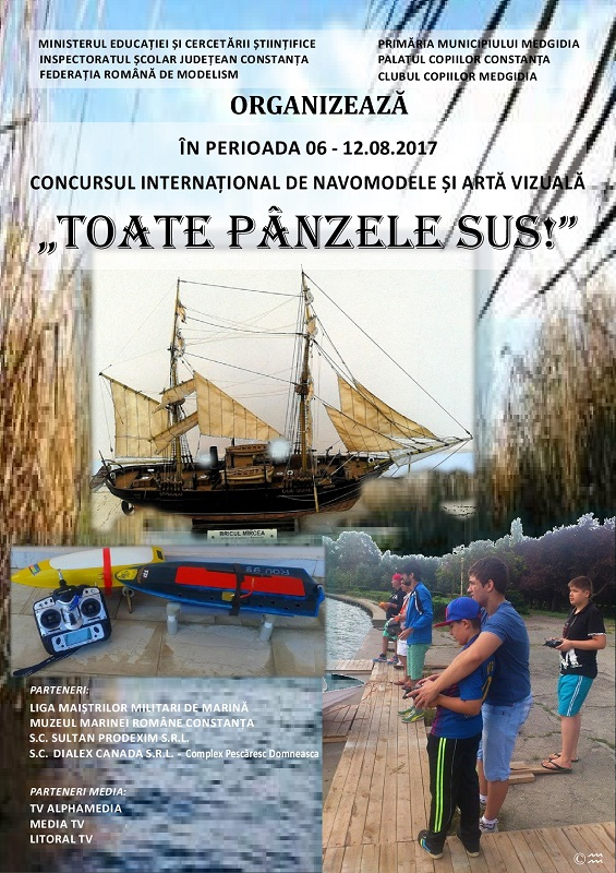 Poster Toate panzele sus 2017
