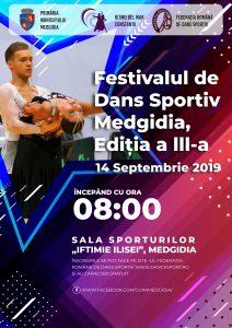 Afis Festivalul Dans Sportiv 2019